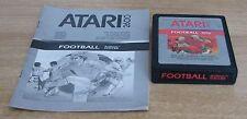 REALSPORTS SOCCER FOOTBALL - Atari 2600 - Usato