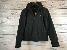 Polo Ralph Lauren Men's Black Hooded Winter Jacket Coat Windbreaker Medium NWT