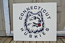 Collectible Sports Sign Basketball Team Connecticut Huskies Original Sign UCONN