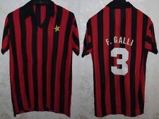 MAGLIA JERSEY SHIRT CALCIO FOOTBALL FUTBOL SOCCER MILAN ITALY F.GALLI VINTAGE
