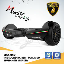 """Lamborghini 6.5"""" Kids Smart Electric Scooter 2-Wheels With App Bluetooth Music"""