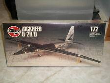 Airfix 1/72 Scale Lockheed U-2B/D - Factory Sealed