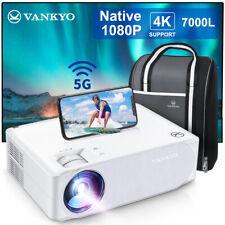 VANKYO Performance V630W 4K 5G WiFi LED Projektor Native 1080P Heimkino Beamer