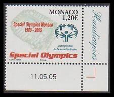 Olympics Monacan Stamps