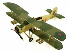 Vintage Plastic ? Camouflage B Royal Navy Hs 158 Fighter Model Plane Airplane