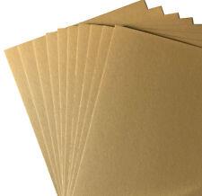 10 A4 NOMAD KLEAN KRAFT CARD 350GSM CARDSTOCK