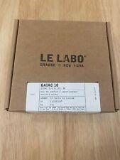 Le Labo Gaiac 10 Eau de Parfum 100ml / 3.4 fl.oz NEW In BoX