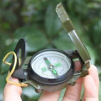 3in1 Hunting Outdoor Camping Survival Hiking Lens Compass Outdoor Survival Tool