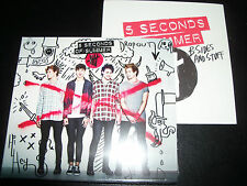 Five 5 Seconds Of Summer Self Titled Deluxe CD + Bonus B-sides & Stuff Promo CD