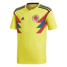 Camisetas de fútbol de selecciones nacionales de manga corta amarillo adidas
