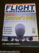 FLIGHT INTERNATIONAL # 4981 - CIVIL SIMULATORS CENSUS - APRIL 19 2005