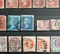 Großbritannien Sammlung ab Klassik, 1 & 2 Penny, Kolonien & Briefe **/O