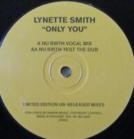 "LYNETTE SMITH - Only You ~ 12"" Single"