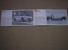 BMC Sida Morris Mini Moke COOPER S Mgc Gt Mgb MG Catalogue Katalog Italienisch