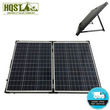 100W 12V Foldable Solar Panel Suitcase Solar Battery Charging Kit 20A Controller