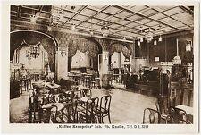 Hamburg-Altona Kaffee Kronprinz Inh. Ph. Knolle Innenansicht Ansichtskarte 1929