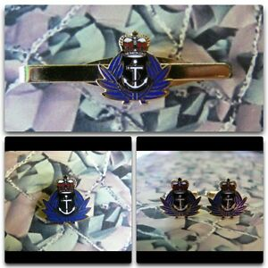 Womens Royal Naval Service Lapel / Cuff Links / Tie Bar Gift Set WRENS