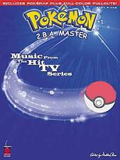 POKEMON 2.B.A. MASTER EASY PIANO SHEET MUSIC SONG BOOK