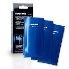 GENUINE PANASONIC WES4L03 SHAVER CLEANING SACHETS X 3.  UK STOCK Model ES-LV95