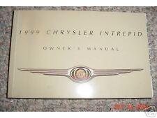 1999 Chrysler Intrepid Owners Manual 99