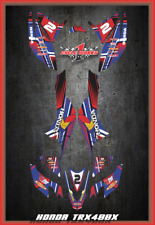 Honda TRX 400x ATV SEMI CUSTOM GRAPHICS KIT PRIMAL
