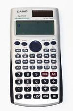 Casio fx-115Es Natural Display Scientific Calculator Solar Two Way Power Silver