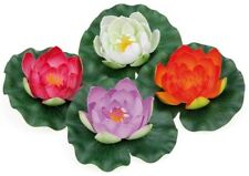 Pontec PondoLily Variety Pack Pond Lily Pads Artificial Pond Plant Decoration