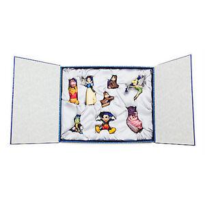 Disney Store 30th Anniversary Classic Ornament Sketchbook Set Limited New w Box