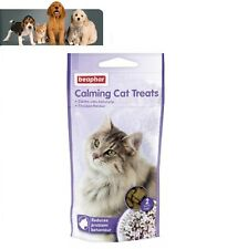 Beaphar Calming Cat Treats 35g, Cat Stress Relief, Pet Calming, Travel Treats