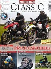 MC1005 + BMW R 80 G/S + R 1200 GS + BIANCHI 500 + MOTORRAD CLASSIC 5/2010