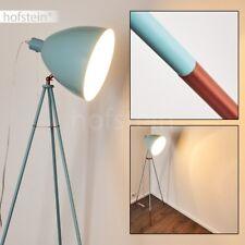 Türkise Steh Boden Stand Lampen verstellbar Retro Wohn Schlaf Zimmer Beleuchtung