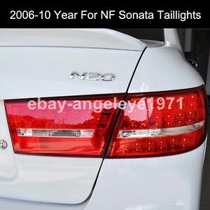 2006-2010 Year LED Back Lamps For Hyundai NF Sonata Sonica LED Taillights WH