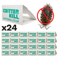 24 X WOODLICE KILLER TRAP CRAWLING INSECT GLUE TRAPS PEST CONTROL POISON FREE