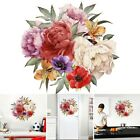 40*40 Cm Colourful Plant Flowers Wall Art Stickers Decal Room Home Decoration