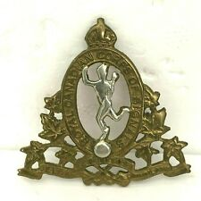 WW2 Royal Canadian Corps of Signals Cap badge genuine