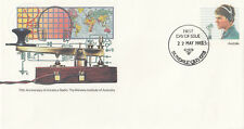 (13876) Australia Postal Stationery FDC Amateur Radio 22 May 1983