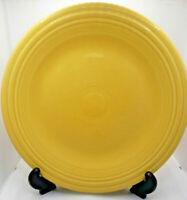 "Homer Laughlin Fiesta Sunflower Yellow Dinner Plate 10.5"" Large PlateFiesta Used"