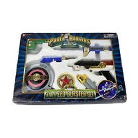 Power Rangers Zeo 7-in-1 Blaster Bandi 1996 MMPR Excellent Condition LooK 😳
