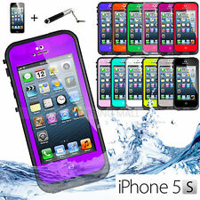 Unbranded/Generic Plain Waterproof Mobile Phone Cases, Covers & Skins for iPhone 5s