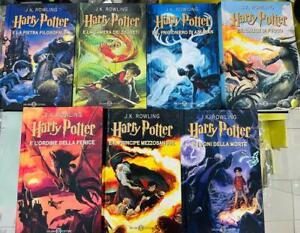Libri Harry Potter - Serie Completa dei 7 Volumi - Salani Editore Articoli Nuovi