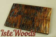 XL Stabilized Dyed Coconut Exotic Wood Knife Scales Gun Grips  SCL3535