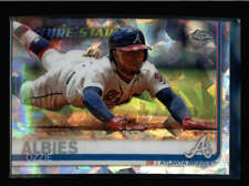 OZZIE ALBIES 2019 TOPPS CHROME SAPPHIRE #561 FUTURE STARS AY7677