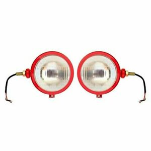 Tractor Red Headlights Assembly Set For Case IH,Claas ,Farmtrac Massey Ferguson