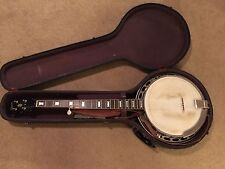 RARE Late 50's GIBSON RB150 Bowtie 5 String Archtop Banjo & Original Case