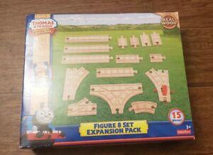 New  Box Thomas & Friends Wooden Railway Figure-8 Expansion Tracks