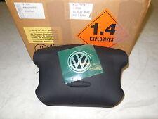 NEW GENUINE VW SHARAN 2001-2010 STEERING WHEEL AIR BAG IN BLACK 3B0880201BH4EC