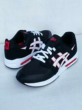Asics Men's GEL-Saga Sou Red/White/Black Training Fashion Sneakers Size 7 US NWB