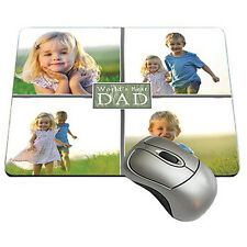 Personalized Mousepad Collage Custom Photo Logo Add Your Own Images New!!