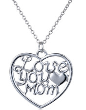Gifts for Mom Necklace Set Mother's day gift Love You Mom