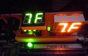 PC Mini DIAGNOSTIC CARD - US SELLER - Travel Size POST Hardware Test Tool - NEW!